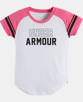 Girls' Pre-School UA Baseball Raglan T-Shirt
