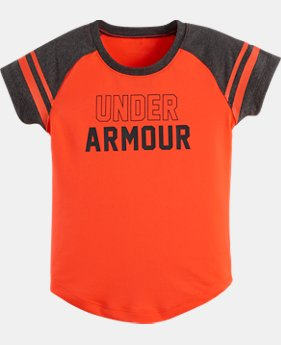 Girls' Toddler UA Baseball Raglan T-Shirt