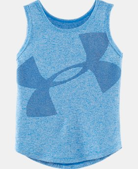 Girls' Pre-School UA Long Game Tank