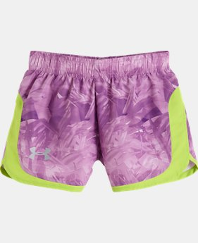 Girls' Pre-School UA Jungle Jive Stunner Short