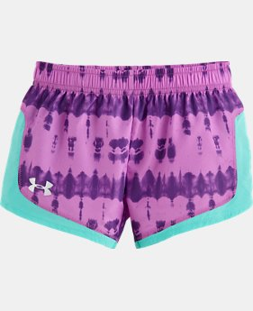Girls' Toddler UA Tie Dye Stunner Short