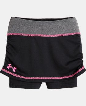 Girls' UA Pre-School Court Skooter Skort