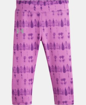 Girls' Toddler UA Tie Dye Capri