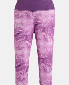 Girls' UA Pre-School Jungle Jive Capri