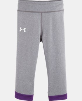 Girls' UA Pre-School Warrior Capri