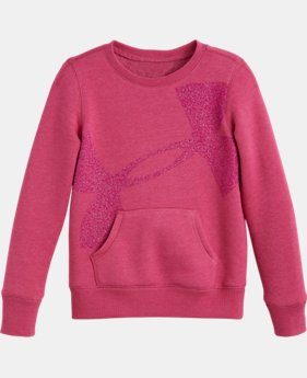 Girls' Pre-School UA Big Logo Sweatshirt