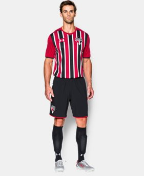 Men's Sao Paulo 15/16 Home/Away Replica Short Sleeve Shirt