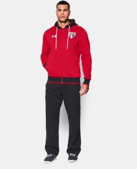 Men's Sao Paulo 15/16 Storm Full Zip Hoodie  1 Color $80