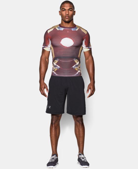 Men's Under Armour® Iron Man Compression Shirt  1 Color $31.49