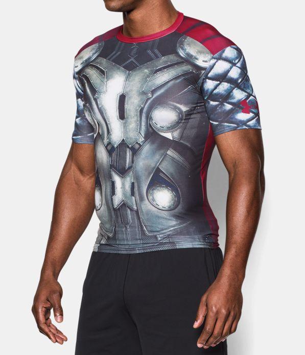 Men s under armour alter ego thor compression shirt for Hulk under armour compression shirt