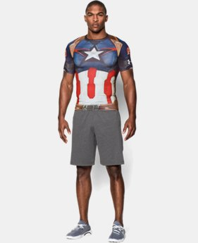 Men's Under Armour® Alter Ego Captain America Compression Shirt  1 Color $35.99