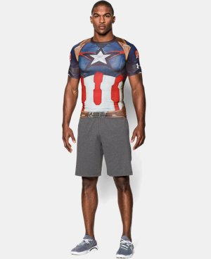 Men's Under Armour® Captain America Compression Shirt   $31.49