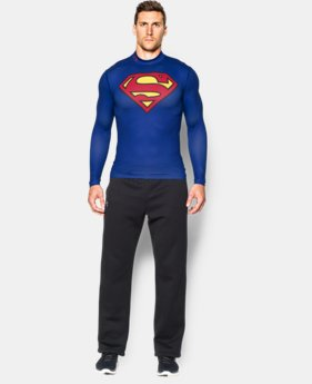 Men's Under Armour® Alter Ego Superman ColdGear® Compression Mock