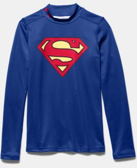 Boys' Under Armour® Superman ColdGear® Fitted Mock