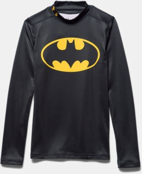Boys' Under Armour® Alter Ego Batman ColdGear® Fitted Mock
