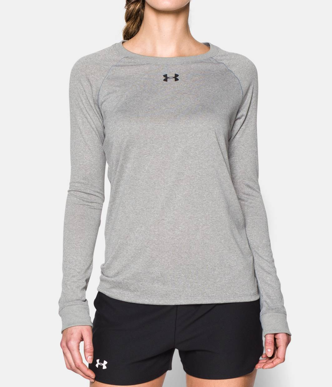 Women s locker long sleeve t shirt under armour us for What is a long sleeve t shirt