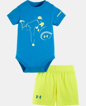 Boys' Newborn UA Fastball 2-Piece Set