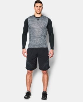 Men's UA Baseball Pinnacle Long Sleeve  1 Color $44.99