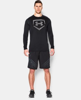 Men's UA Raid Baseball Long Sleeve Shirt LIMITED TIME: FREE U.S. SHIPPING  $25.49