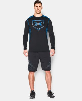 Men's UA Raid Baseball Long Sleeve Shirt