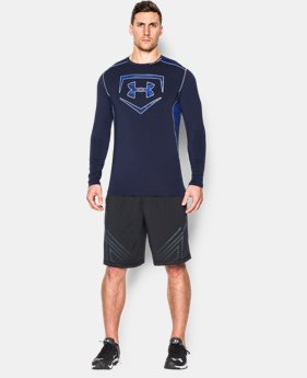 New Arrival Men's UA Raid Baseball Long Sleeve Shirt LIMITED TIME: FREE SHIPPING 3 Colors $44.99