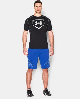 Men's UA Undeniable Baseball Short Sleeve Shirt LIMITED TIME: FREE U.S. SHIPPING  $17.99 to $22.49