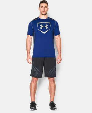Men's UA Undeniable Baseball Short Sleeve Shirt LIMITED TIME: FREE U.S. SHIPPING 2 Colors $17.99 to $22.49