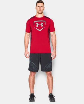 Men's UA Undeniable Baseball Short Sleeve Shirt  1 Color $17.99 to $22.49