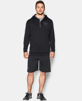 Men's UA 9 Strong ¼ Zip Hoodie  1 Color $48.99