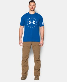 Men's UA Freedom T-Shirt LIMITED TIME: FREE SHIPPING 2 Colors $24.99