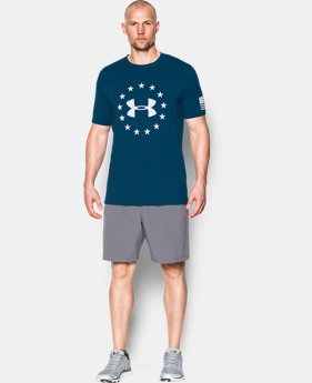 Men's UA Freedom T-Shirt  4 Colors $24.99