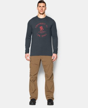 Men's UA Property of WWP Long Sleeve T-Shirt LIMITED TIME: FREE U.S. SHIPPING 1 Color $17.24