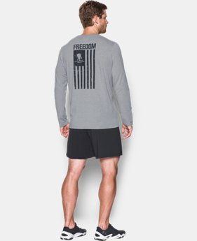 Men's WWP Freedom Flag Long Sleeve T-Shirt  2 Colors $29.99