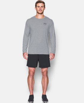 Men's WWP Freedom Flag Long Sleeve T-Shirt  5 Colors $29.99