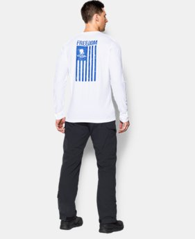 Men's WWP Freedom Flag Long Sleeve T-Shirt LIMITED TIME: FREE SHIPPING 1 Color $29.99