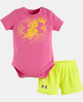 Girls' Newborn UA Matrix Set