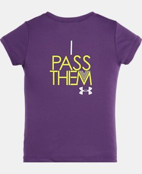 Girls' Infant UA I Don't Chase Boys Short Sleeve