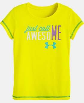 Girls' Toddler UA Just Call Me Awesome T-Shirt