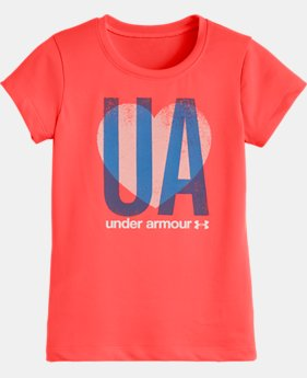 Girls' Toddler UA All Heart Short Sleeve