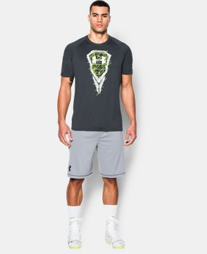 Men's UA Lacrosse Logo T-Shirt LIMITED TIME: FREE U.S. SHIPPING 1 Color $15.74