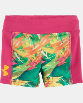 "Girls' Pre-School UA Jungle Jive 5"" Bike Short"