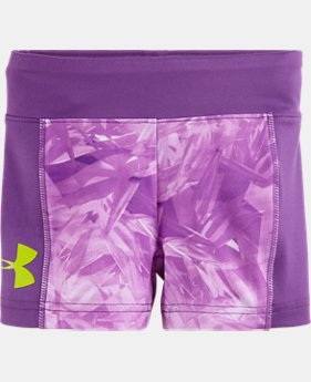 "Girls' Toddler UA Jungle Jive 5"" Bike Short"