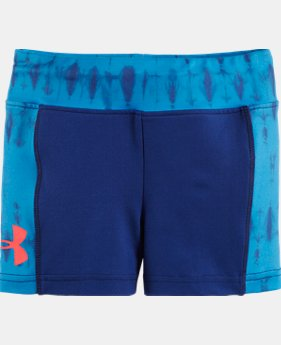 "Girls' Toddler UA Tie Dye 5"" Bike Short"
