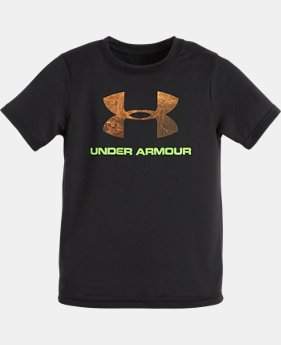 Boys' Pre-School UA Hunt Big Logo T-Shirt