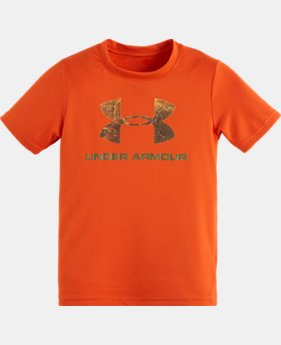 Boys' Infant UA Hunt Big Logo T-Shirt