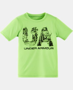 Boys' Pre-School UA Wildlife T-Shirt