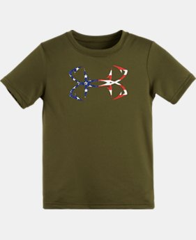 Boys' Pre-School UA Fish Hook Americana T-Shirt