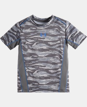 Boys' Pre-School UA Tiger Camo Snare T-Shirt