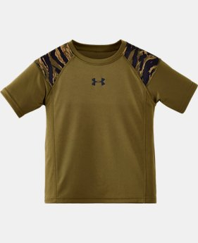 Boys' Toddler Tiger Camo Snare T-Shirt