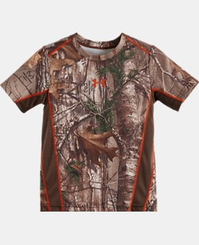 Boys' Pre-School UA Real Tree Snare T-Shirt